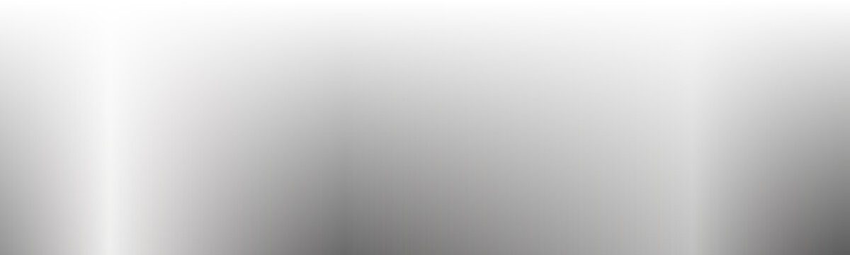 vector silver gradient background on white background