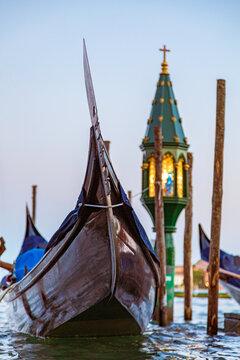 Venedig - Venice - Venezia - Italia - Gondel - Lampe - malerisch