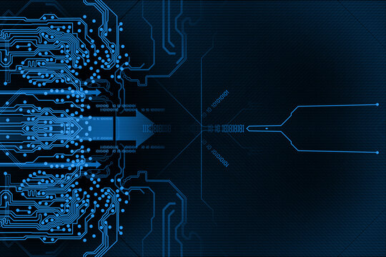 Abstract Technology background. Modern technology background design concept
