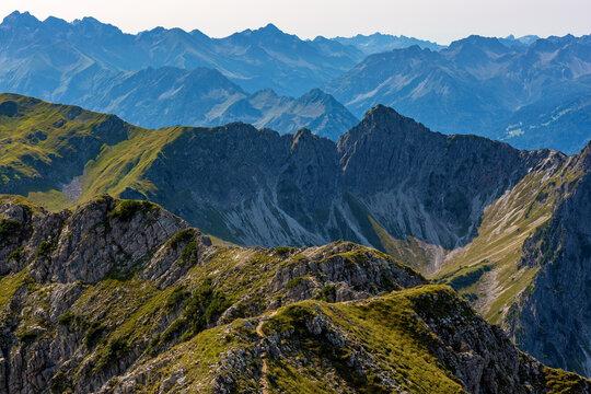 Allgäuer Berge - Alpen - Oberstdorf - vom Entschenkopf aus