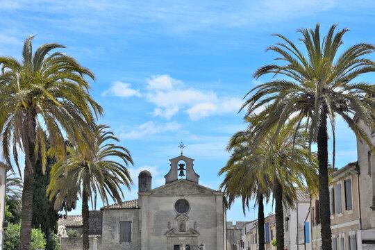 Chapelle des Pénitents gris, Aigues Mortes, Aigas-mòrtas, Occitanie, France