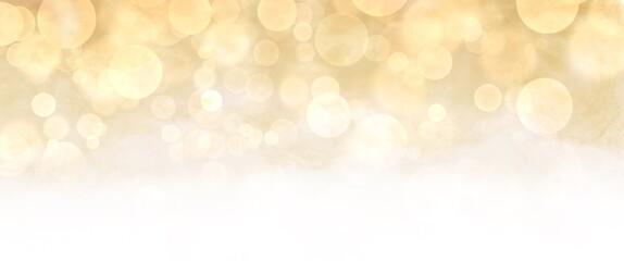ゴールドに光輝く背景イラスト