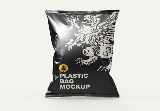 Plastic Bag Mockup