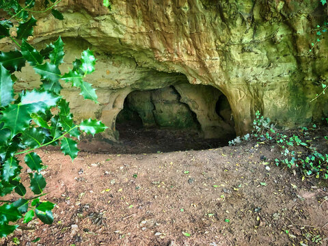 Pixie's Parlour Cave in Ottery St.Mary, Devon