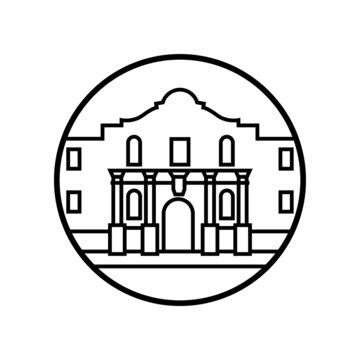 World famous building - The Alamo
