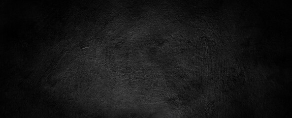 Obraz black grey dark background texture with old vintage grunge, classy painted black wall that is distressed - fototapety do salonu