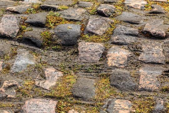 Cobblestone Road- Detail