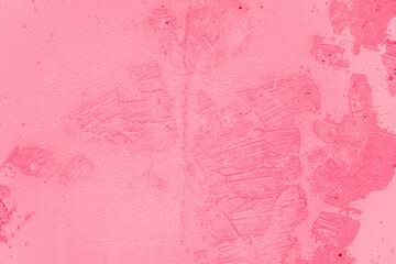 Obraz fond ou arrière-plan rose, abstrait, texture de mur de béton coloré, octobre rose - fototapety do salonu