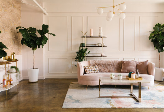 A modern living room style