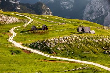Obraz Góry Durmitor - Czarnogóra  - fototapety do salonu
