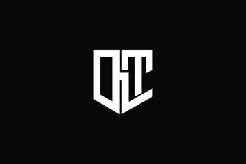 Obraz Letter DLT D L T  Logo Alphabet Design Icon Vector Symbol - fototapety do salonu