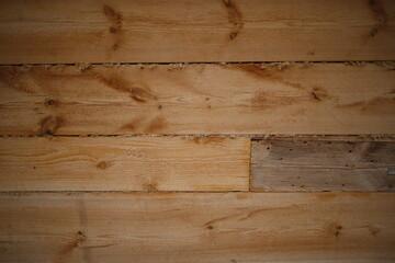 Obraz Deski drewniane poziome niejednolite tło - fototapety do salonu