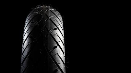 Profil eines Reifens Motorrad, Chopper