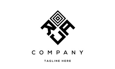 Obraz RAJ creative square three latter logo - fototapety do salonu