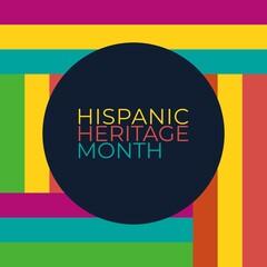 Fototapeta hispanic heritage month obraz