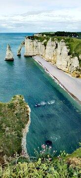 Etretat... view of the coast