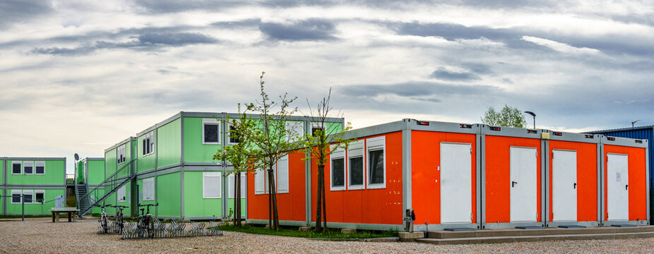 container home for refugees