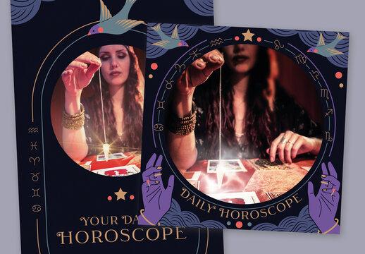 Horoscope Social Media Set
