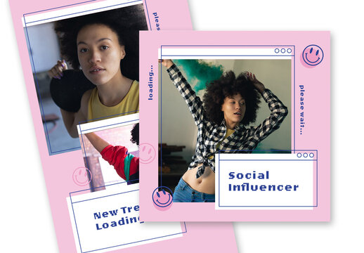 Modern Social Media Set