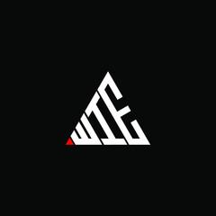 Obraz WIE letter logo creative design. WIE unique design  - fototapety do salonu