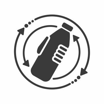 Shake well the bottle before using sign, logo, symbol, icon.