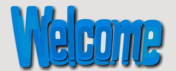 Napis Welcome 003