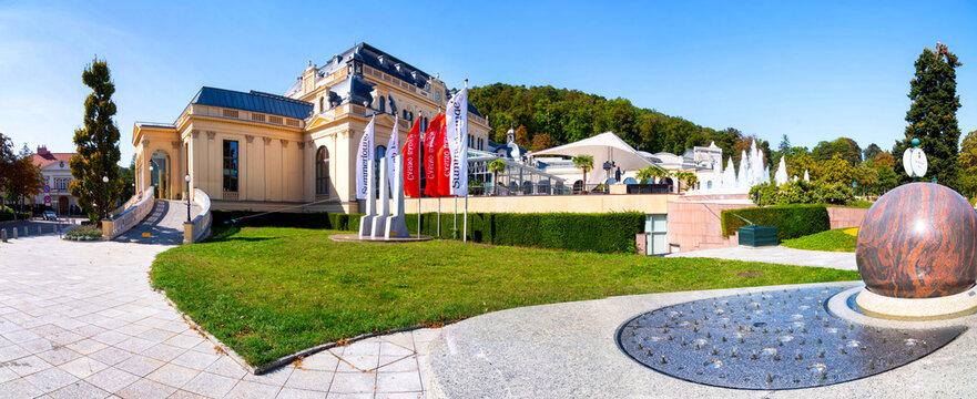 The popular Casino and spa house in Baden near Vienna, Austria