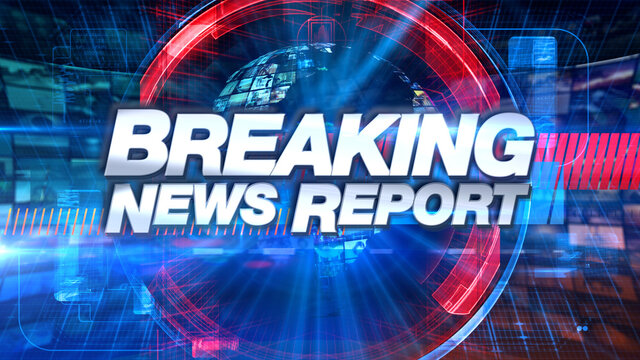 Breaking News - Broadcast TV Animation Graphic Title