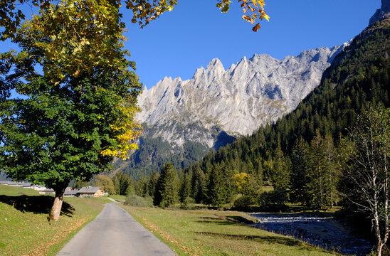 Rosenlaui valley near Meiringen, Switzerland
