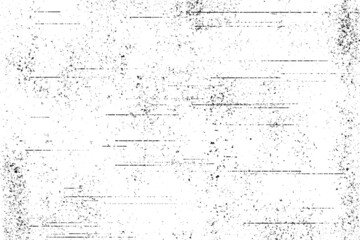 Grunge white and black wall background.Abstract black and white gritty grunge background.black and white rough vintage distress background.Grunge Texture Vector