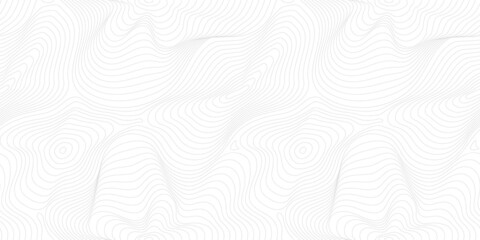 Subtle minimal vector seamless pattern, thin curved lines. Modern wide background. Abstract dynamical rippled surface, visual 3D effect, illusion of movement, curvature. Repeat design for print, web
