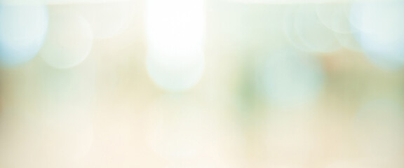 Blur abstract bokeh festive light background, banner, backdrop, wallpaper