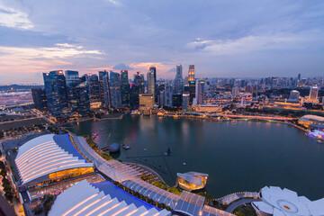 Obraz Singapur - fototapety do salonu