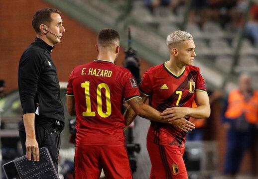 World Cup - UEFA Qualifiers - Group E - Belgium v Czech Republic