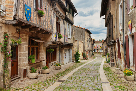 Parthenay old traditional French village