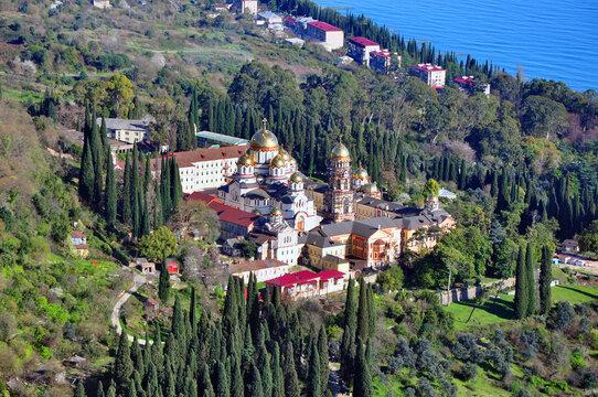 New Athos Simon-Kananitsky Monastery in Abkhazia