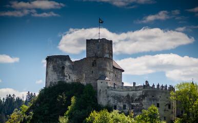 Zamek w Niedzicy, Jezioro Czorsztyńskie