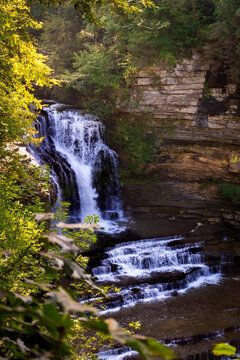 Gorgeous Cummins Falls in Cookeville, Tennessee
