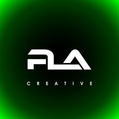 Obraz PLA Letter Initial Logo Design Template Vector Illustration - fototapety do salonu