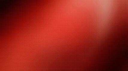 blurry red gradient background with halftone (dots) gradiation overlay use as creative concept.  pop art red halftone, comics background. black dots on red background.