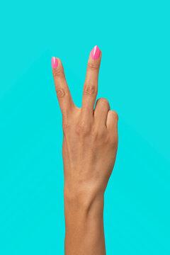 Rude hand sign
