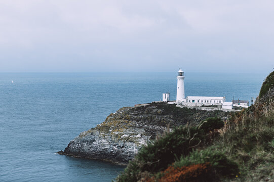 South Stack Lighthouse, Wales, Anglesey, UK