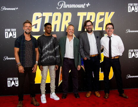 An event to commemorate the 55th anniversary of the Star Trek: The Original Series at Skirball Cultural Center in Los Angeles