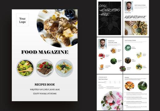 Food Magazine Layout
