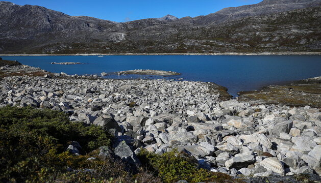 General view of the landscape outside Nuuk