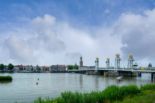 City Bridge Kampen, Overijssel Province, The Netherlands