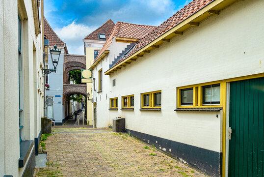 Koldenhovensteeg in Kampen, Overijssel Province, The Netherlands