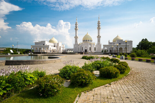 White Mosque in the city of Bulgar