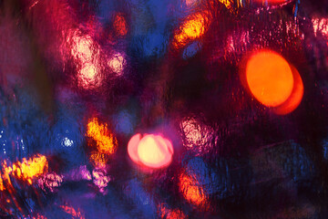 Colorful abstract background, dynamic lighting