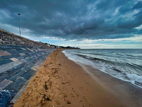 Photograph of Exmouth beach, Devon